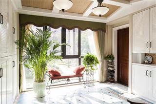 美式四居室装修门厅设计图