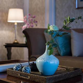 现代美式三居室装修 婉约雅韵