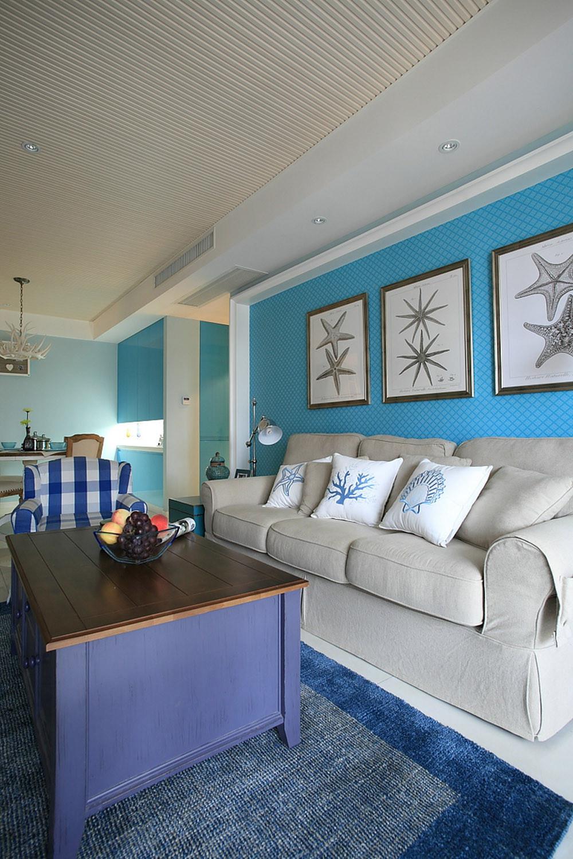 混搭风格三居室沙发图片