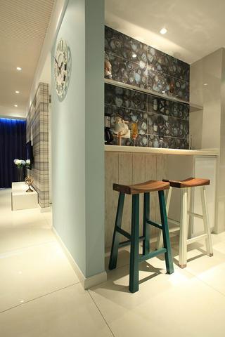 混搭风格三居室吧台设计