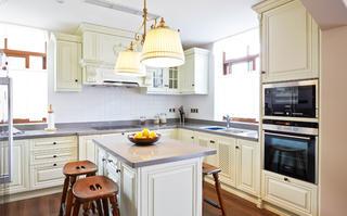 美式风格别墅厨房设计图