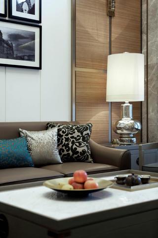 現代別墅裝修客廳一角