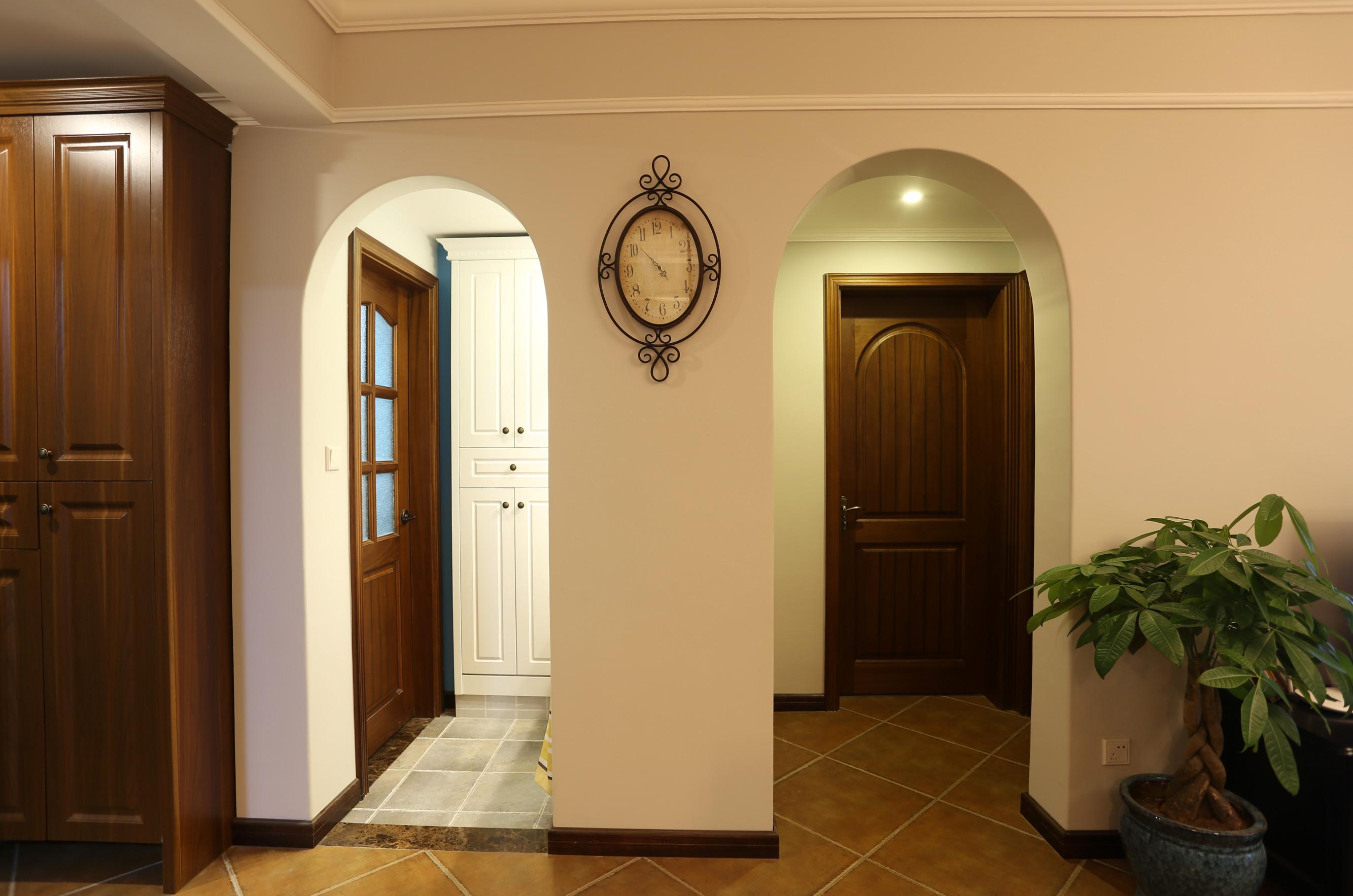 小户型美式风格家门洞设计