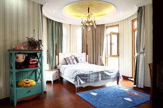 新古典主义风格别墅装修儿童房设计图
