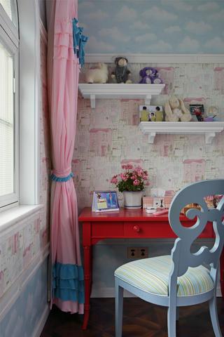 大户型美式风格别墅装修儿童房一角