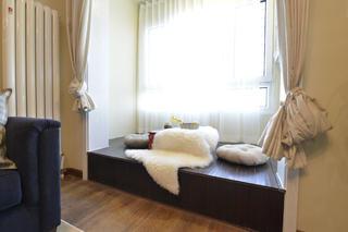 小户型美式二居装修地台设计