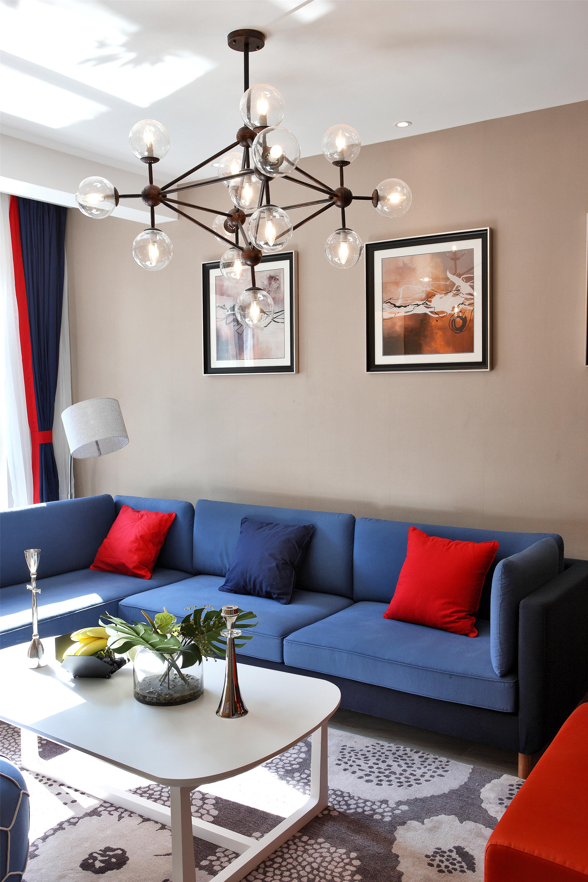 别墅样板间装修沙发图片