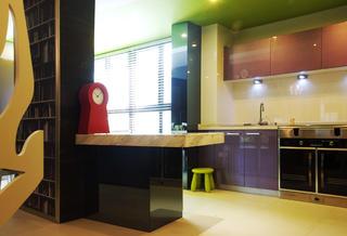95㎡现代简约两居装修厨房搭配图
