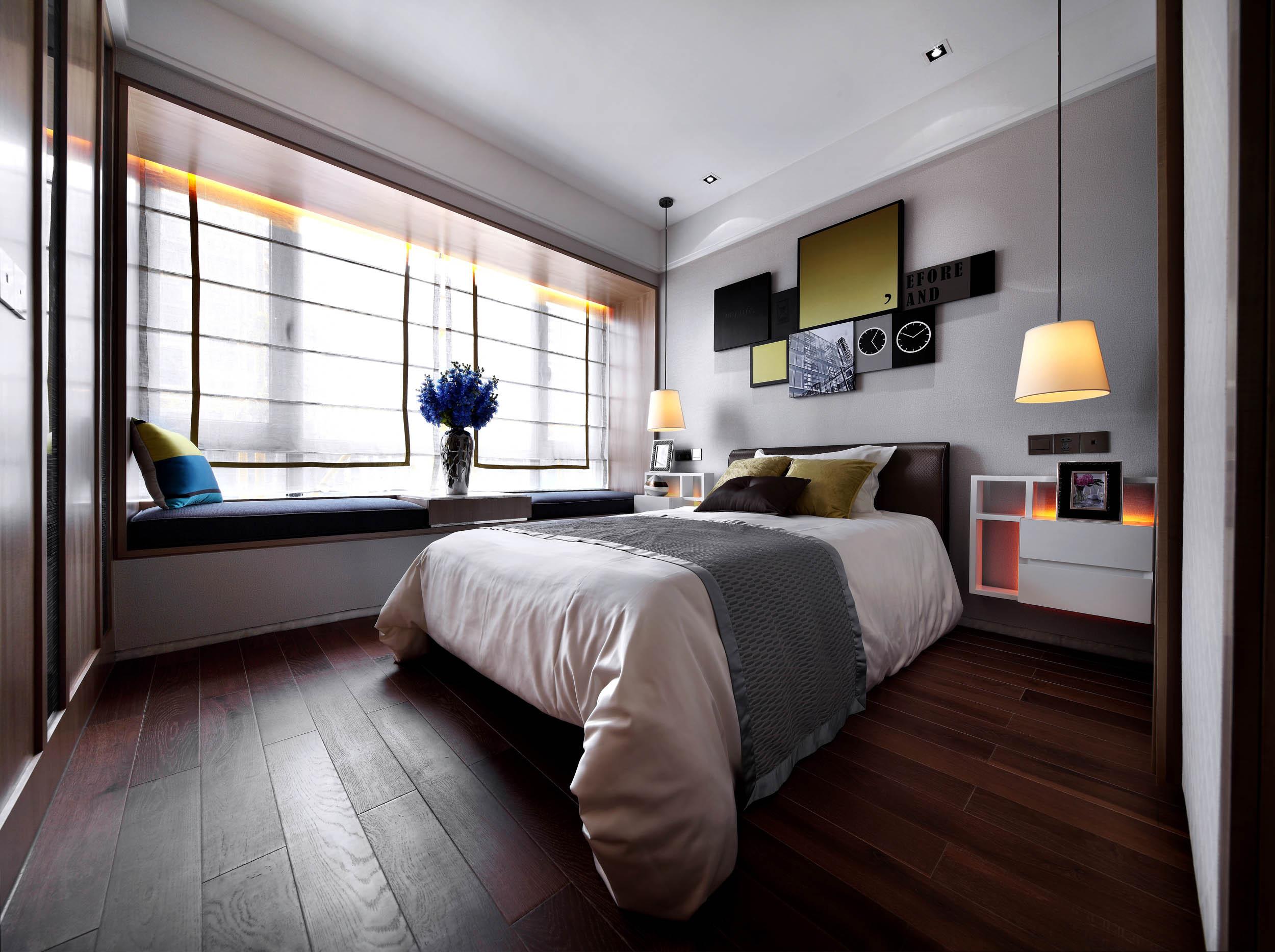 意式风格四居装修卧室效果图