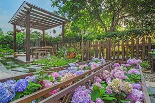 东南亚风格三居花园欣赏图