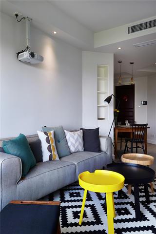 两居室北欧风格家沙发图片