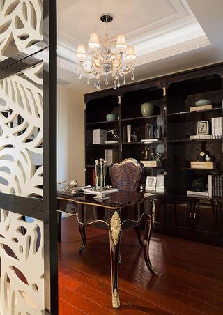 新古典主义别墅装修书房设计图