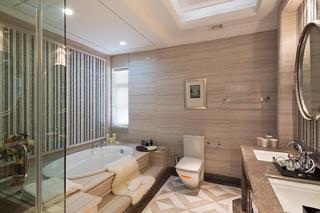 新古典主义别墅装修卫生间效果图