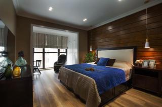 140平混搭四居室装修卧室设计图