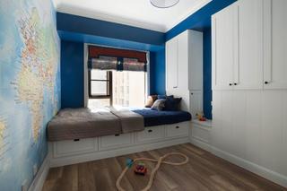 140平混搭四居室装修男孩房设计图