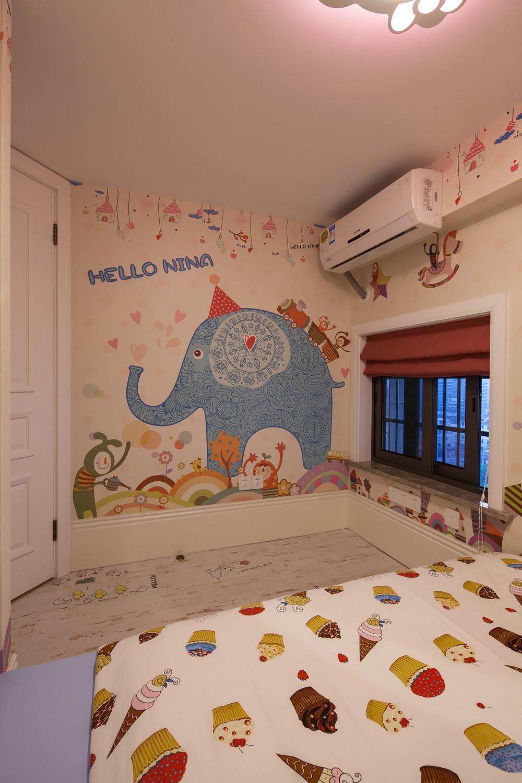 美式跃层装修儿童房欣赏图