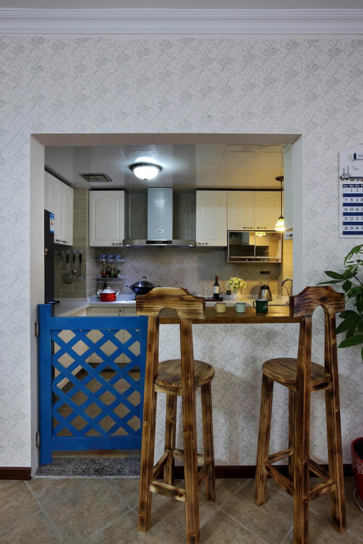 三居室田园风格家吧台设计