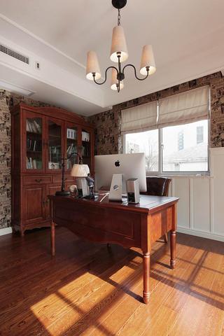 美式别墅装修书房布置图