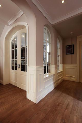 美式别墅装修拱形门窗设计