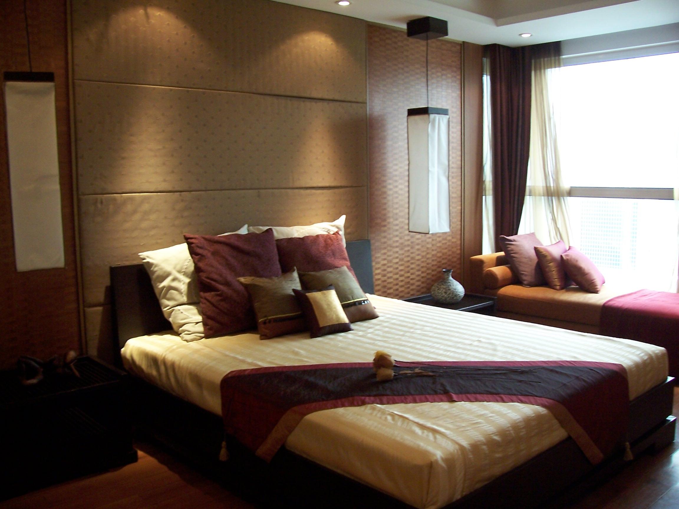 中式轻古典装修卧室搭配图