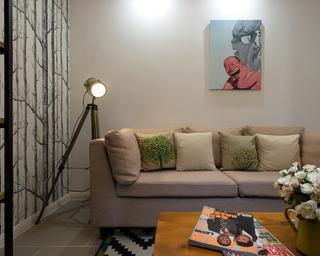 小户型北欧风之家沙发图片