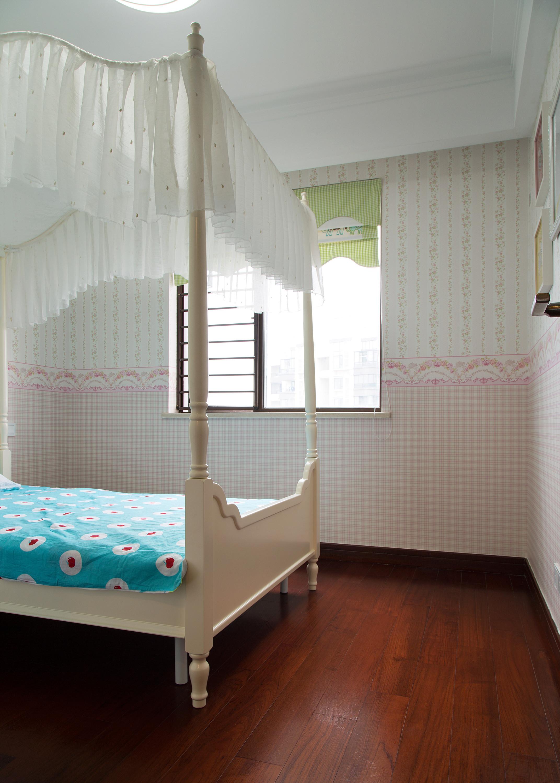 140平现代美式家儿童房设计图