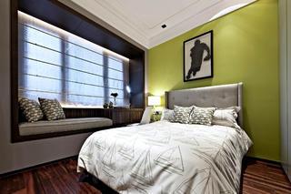 后现代欧式样板房装修卧室设计图