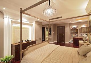大户型时尚新古典装修卧室设计图