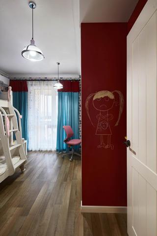 90平北欧风装修儿童房搭配图