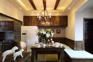 法式二居装修餐厅设计