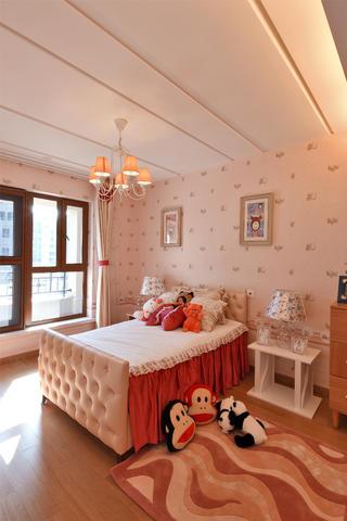 别墅样板间装修儿童房布置图
