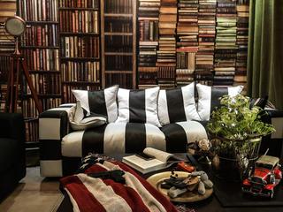 70平二居装修沙发图片