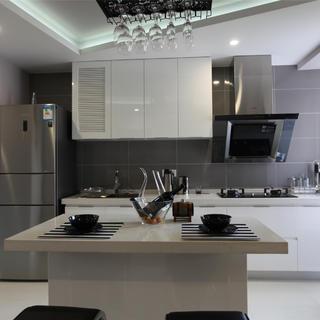 现代简约风格二居室装修图