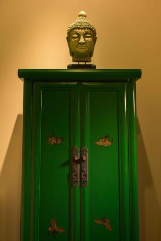 中式风格别墅设计装饰柜图片