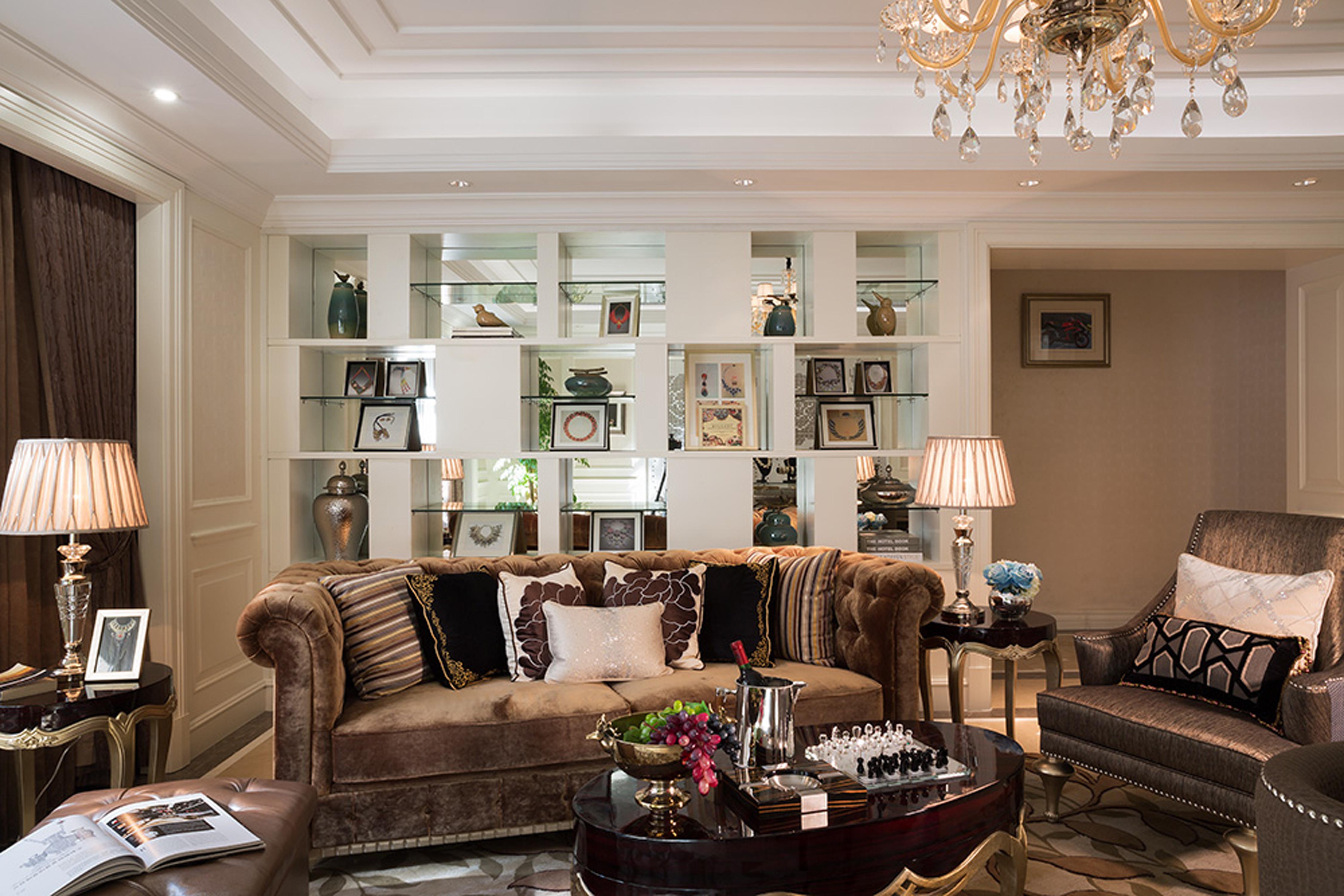 新古典主义别墅装修沙发图片