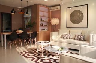 简约小户型一居室装修客厅一角