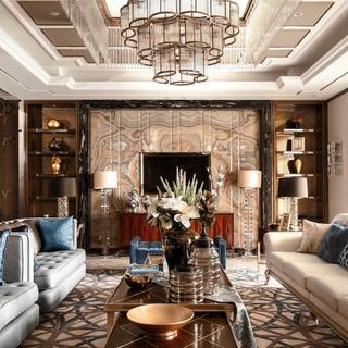别墅混搭装修设计 华丽高贵