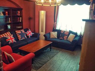 复古美式二居装修沙发图片