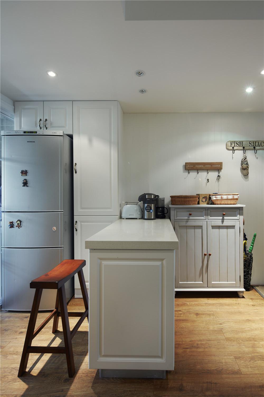 90平美式装修厨房设计图