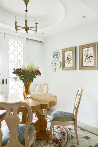 三居室法式风格家餐厅布置图