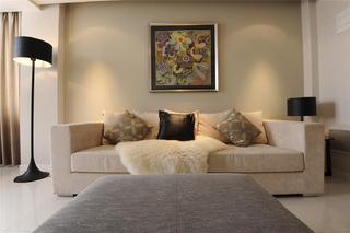 三居室现代简约家沙发图片
