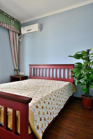 135平现代美式装修次卧搭配图