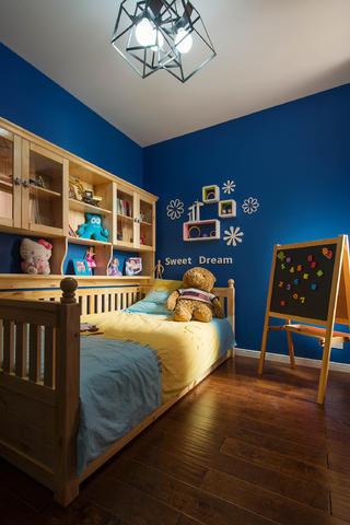 90平混搭装修儿童房设计图