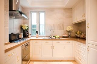 复式欧式样板间装修厨房布局图