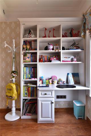 新古典风格三居室装修儿童房布置图