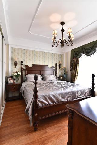 新古典风格三居室装修卧室设计图