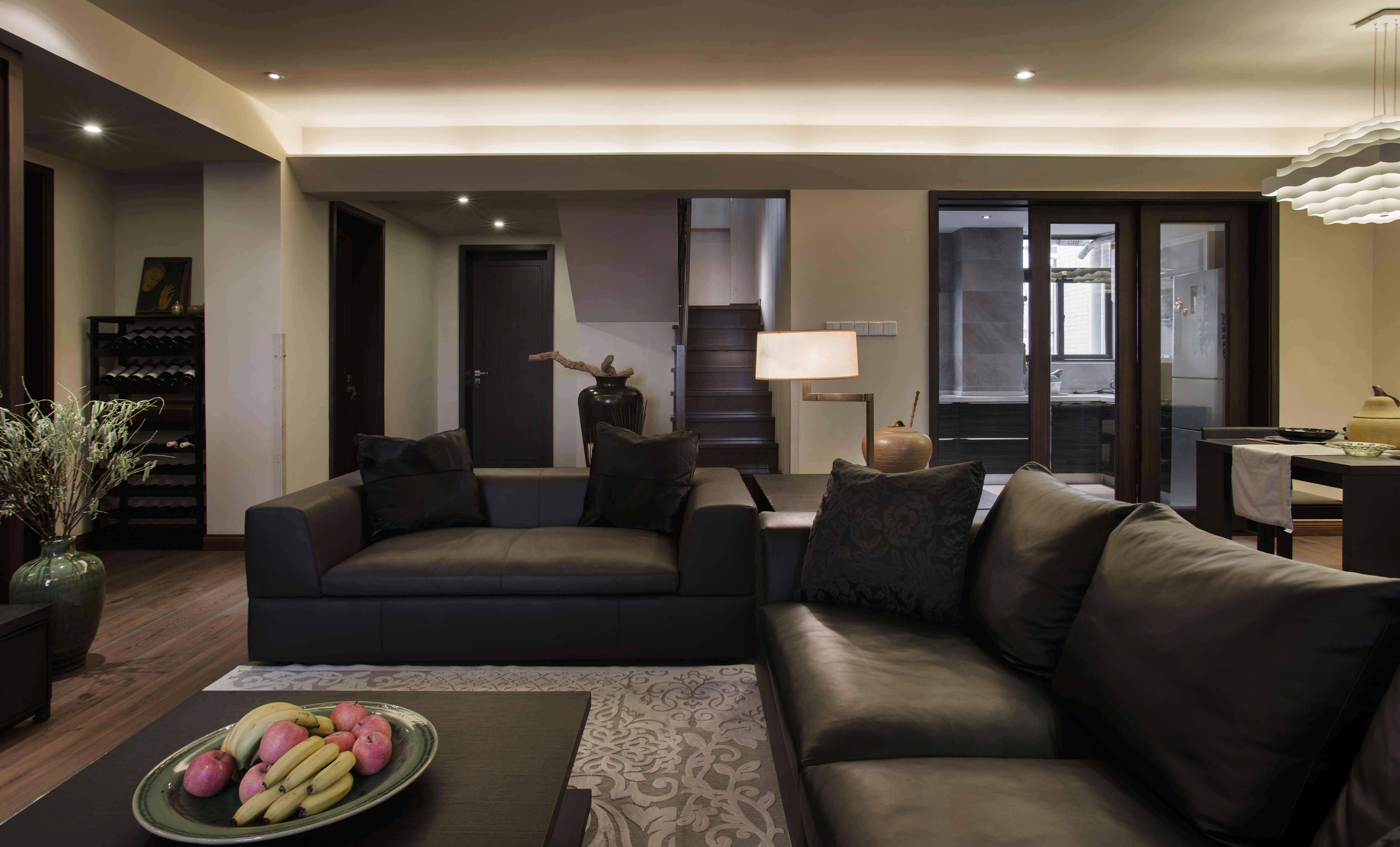 中式风格别墅设计沙发图片
