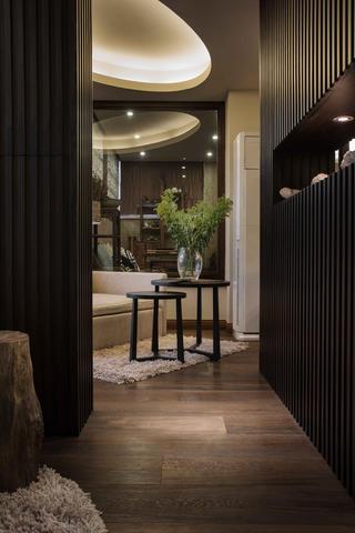 中式风格别墅设计鞋柜图片
