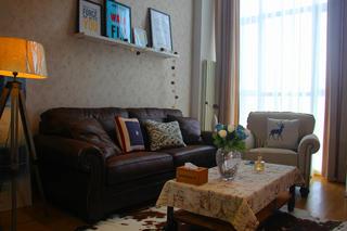 北欧风公寓装修沙发图片