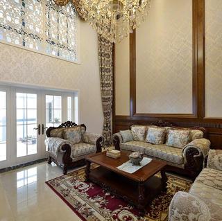 唯美典雅的欧式别墅装修图